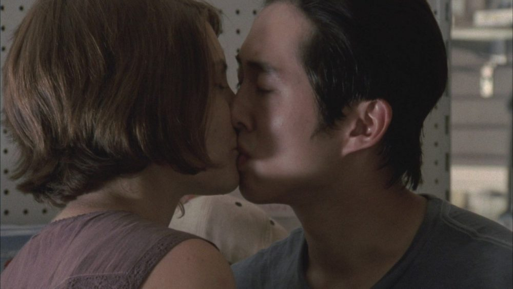 tv couples glenn and maggie