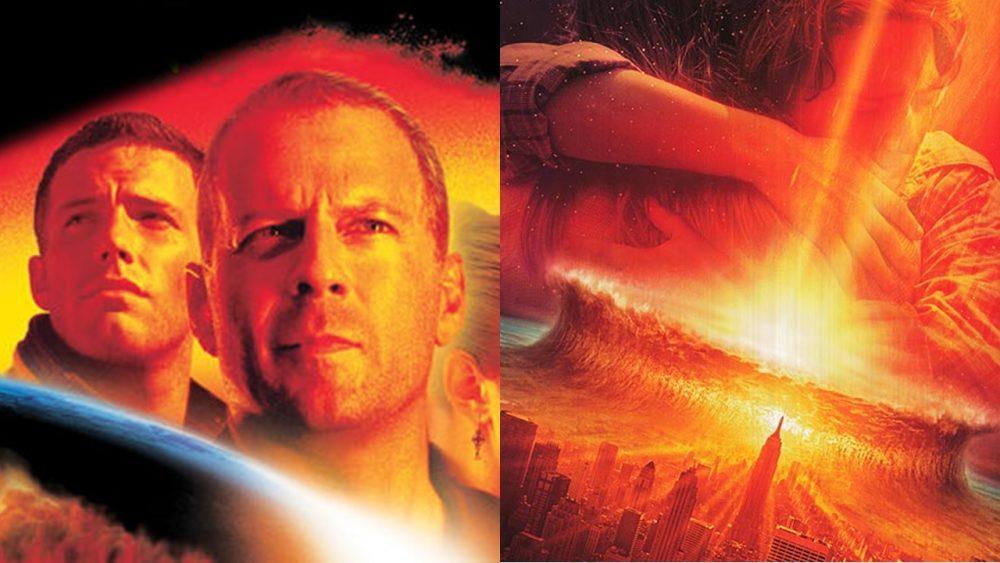 two movies armageddon deep impact