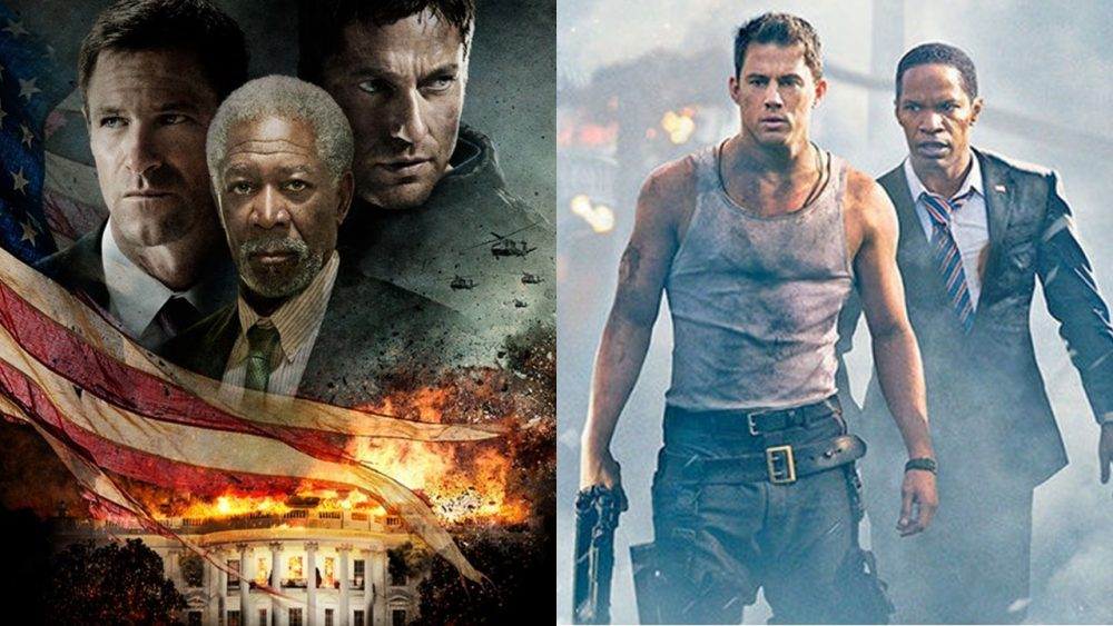 two movies olympus has fallen white house down