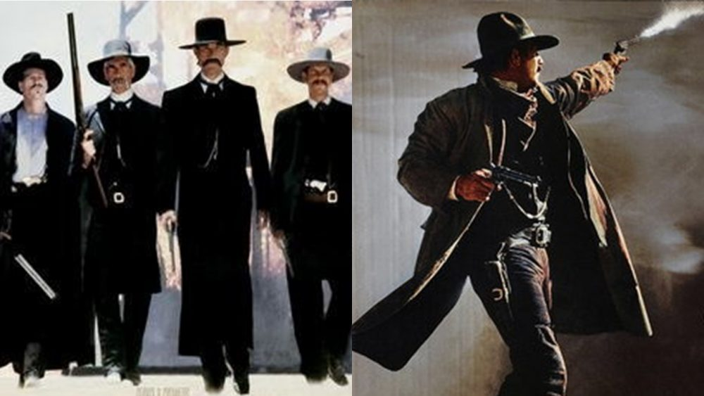 two movies tombstone wyatt earp