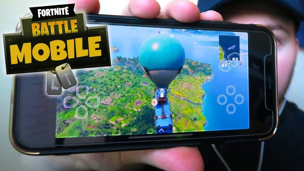 fornite battle royale on your mobile phone