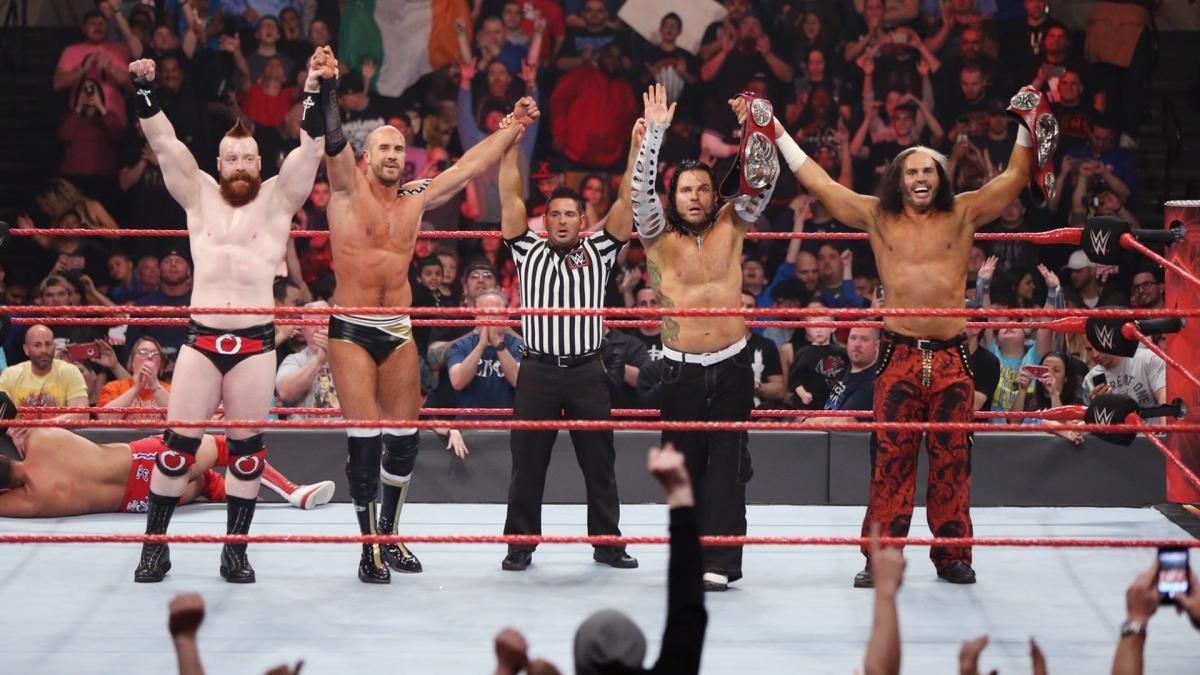 1. Sheamus & Jeff Hardy