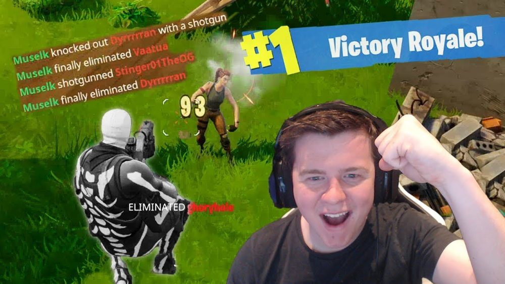 10 Muselk top 10 fortnite players online