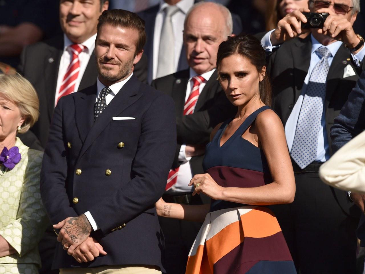 2. David and Victoria Beckham