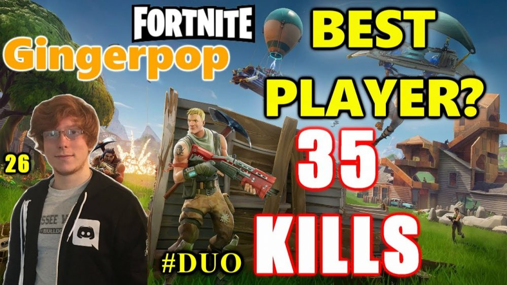 Gingerpop top 10 fortnite players online
