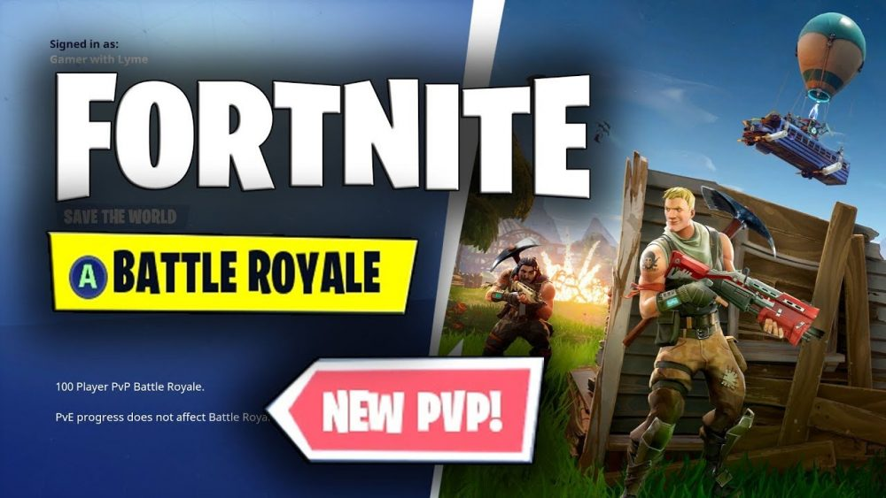 Fortnite multiplayer modes