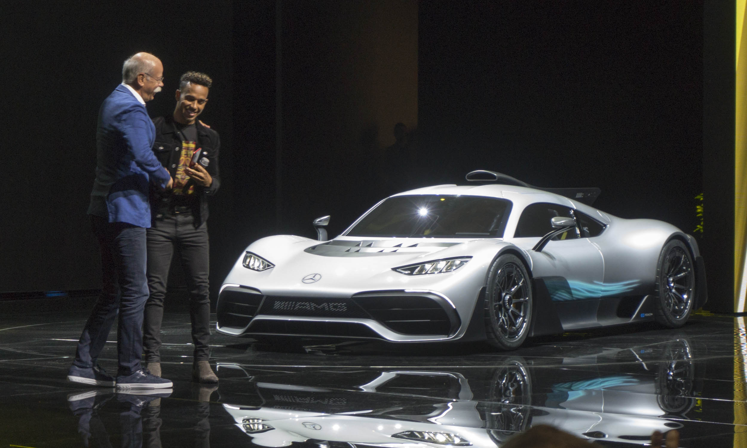 6. Mercedes AMG Project One