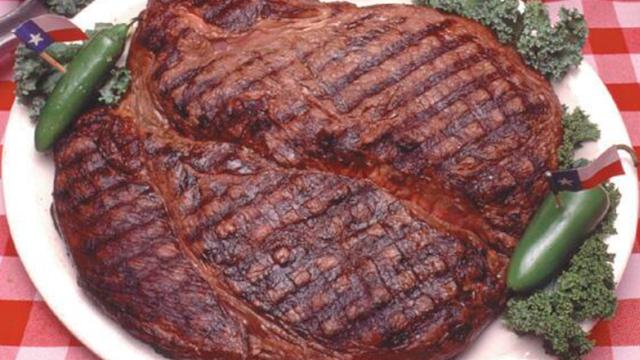 Man vs Food Big Texan