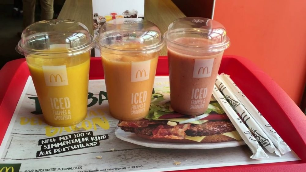 mcdonalds smoothies top 10 things you shouldnt order at mcdonalds
