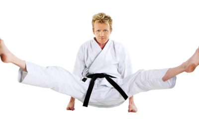 Gordon Ramsay Karate