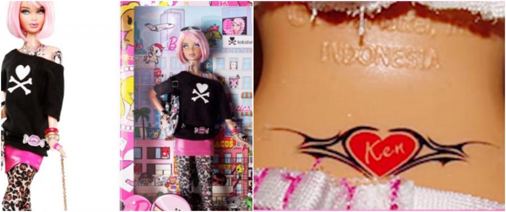 totally tattoo barbie