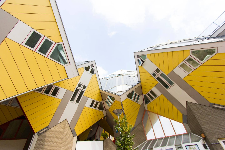 3 cube house
