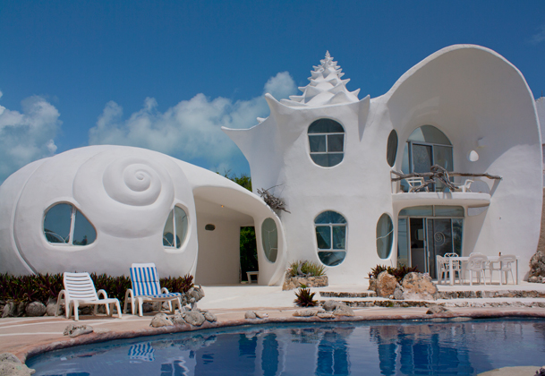 5 seashell house