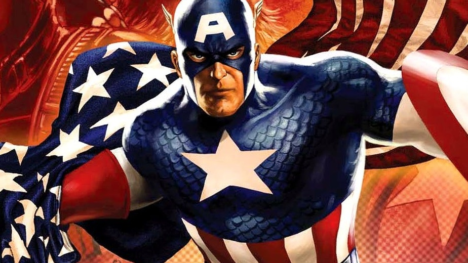 Captain-America-Comic-Cover-Flag-Waving Cropped