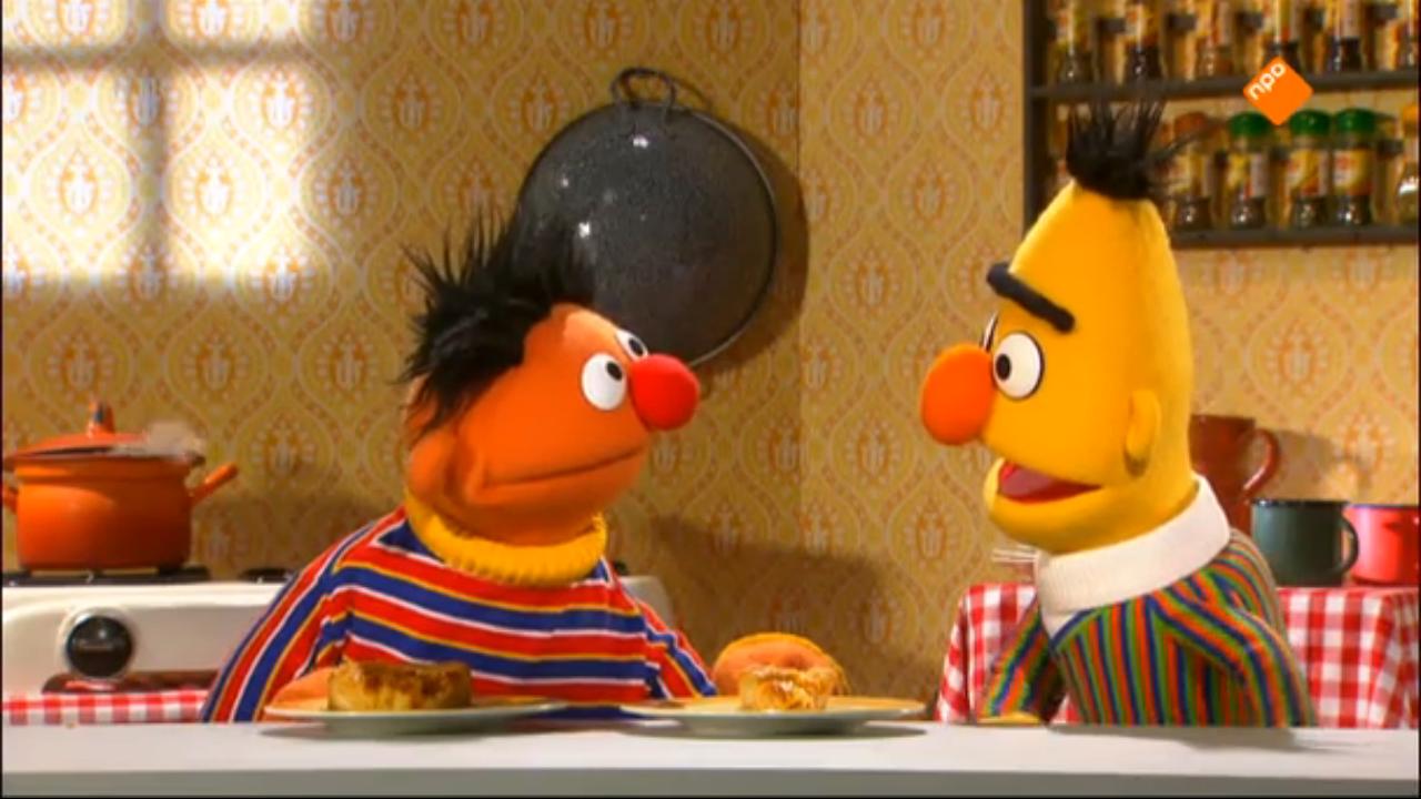 Sesame Street's famous roommates.
