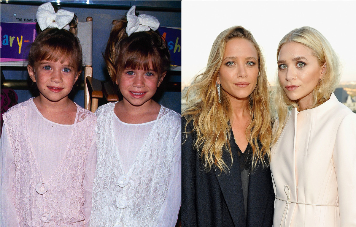 Mary-Kate and Ashley Olsen