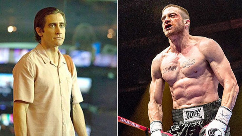 buff actors jake gyllenhaal southpaw