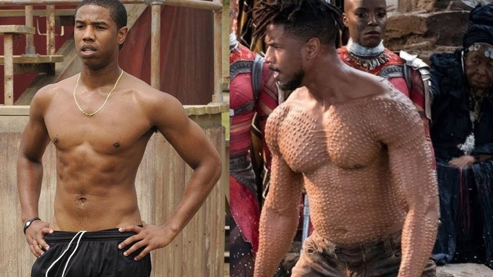 buff actors michael b jordan black panther