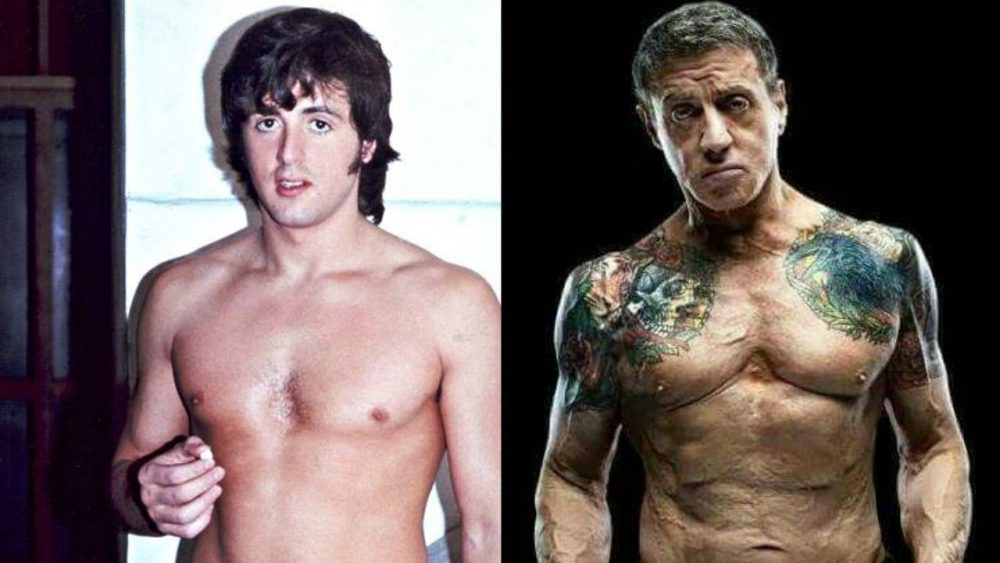 buff actors sylvester stallone the expendables