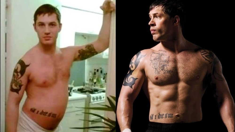 buff actors tom hardy warrior