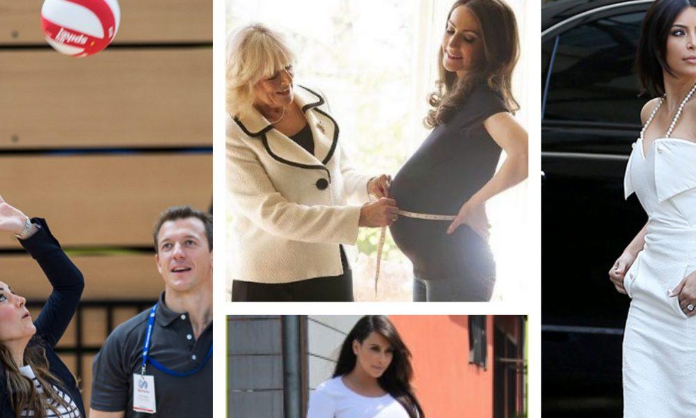 10 Celeb Moms Whose Bounce Back Was A Lie