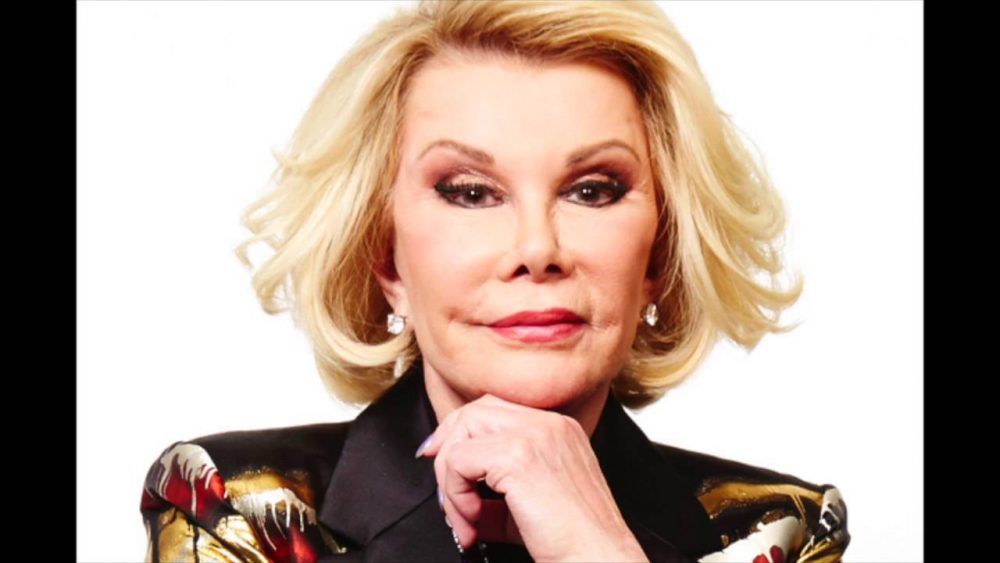 female comics joan rivers