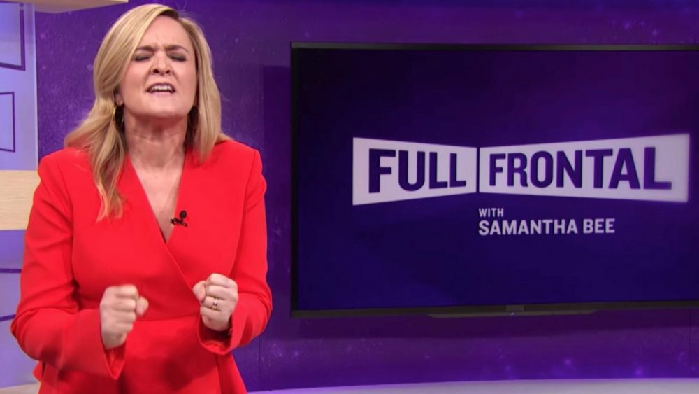 female comics samantha bee