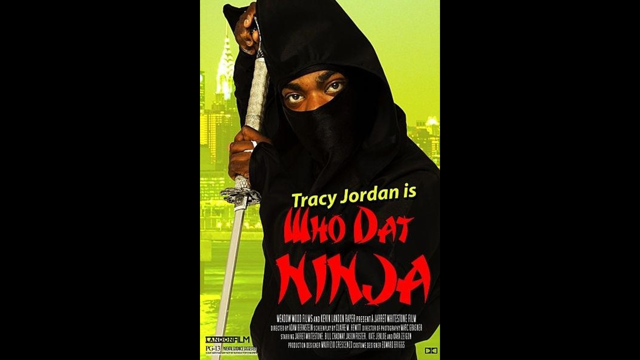 fictional movies who dat ninja
