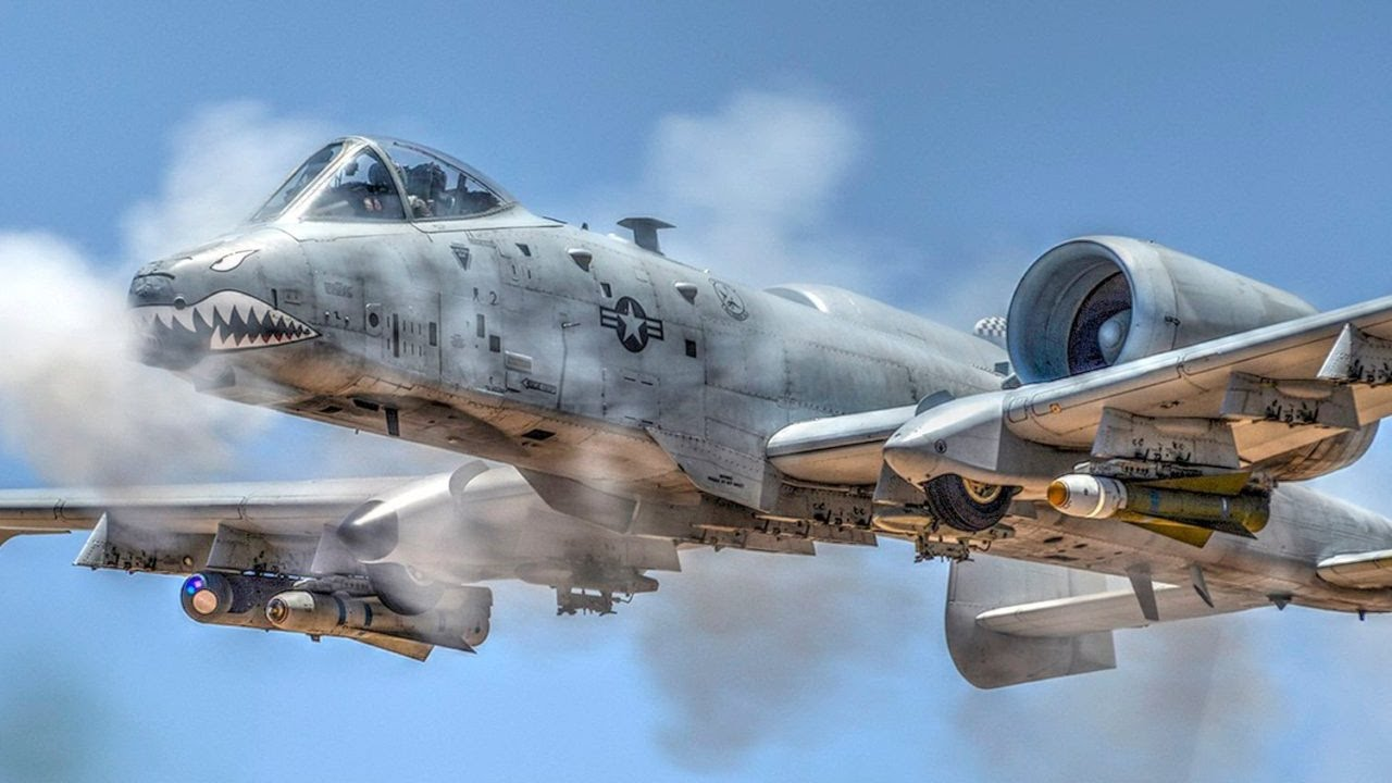 The A-10 is an effective ground support jet.