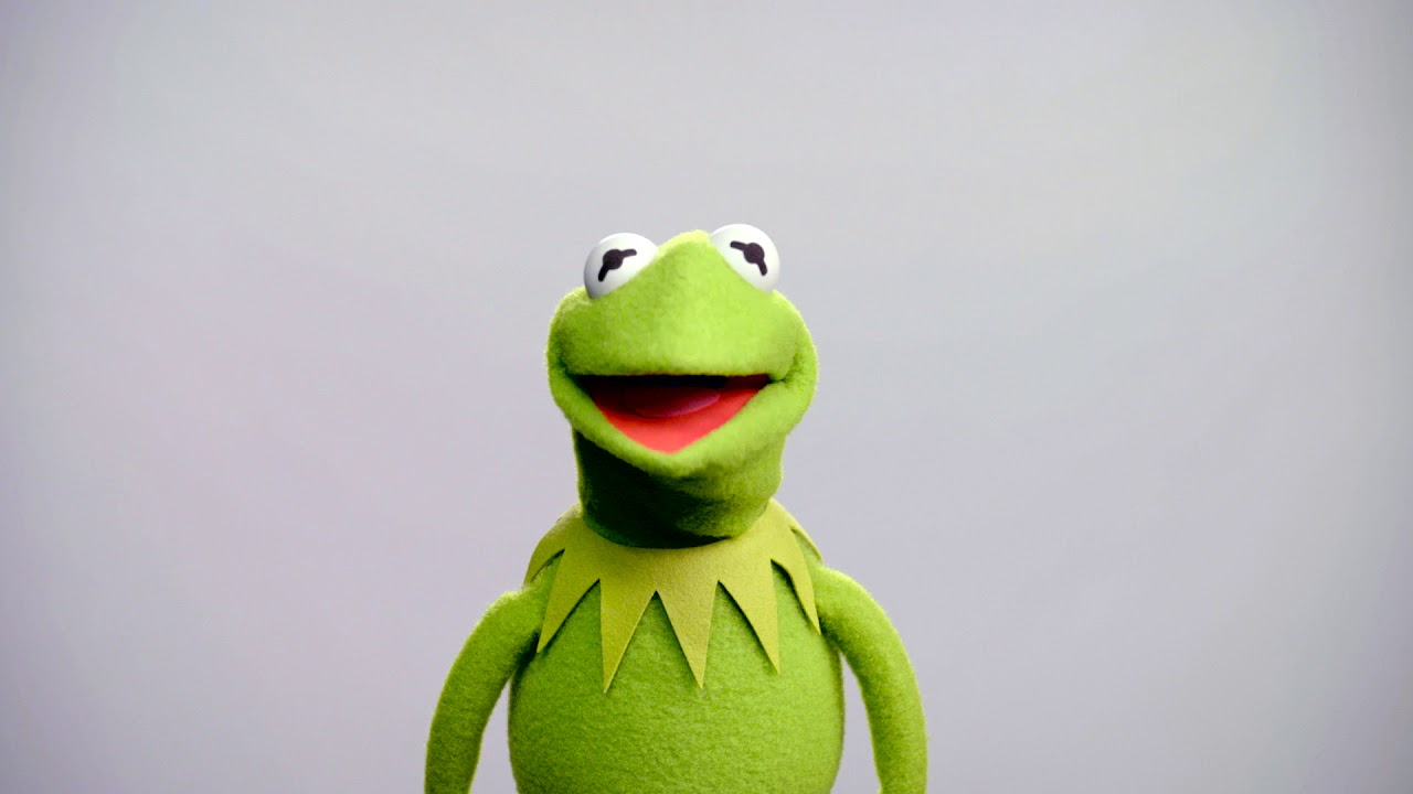 Kermit is the iconic Muppet