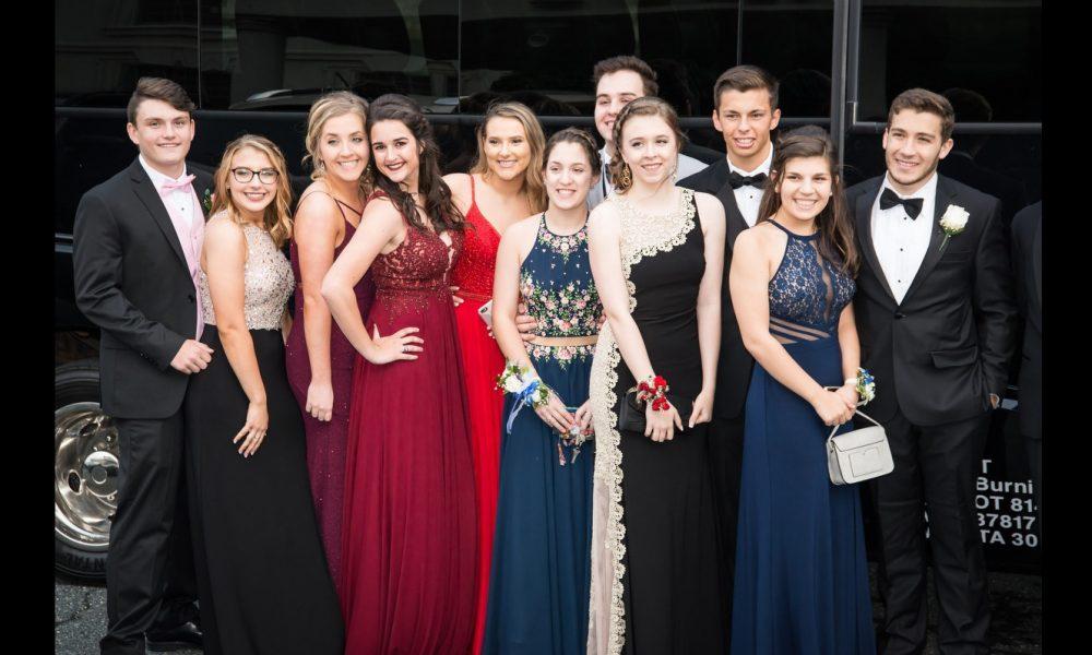 10 Celeb Kids Rocking Prom Night