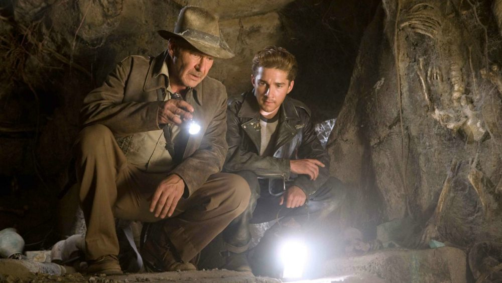 spielberg movies indiana jones and the kingdom of the crystal skull