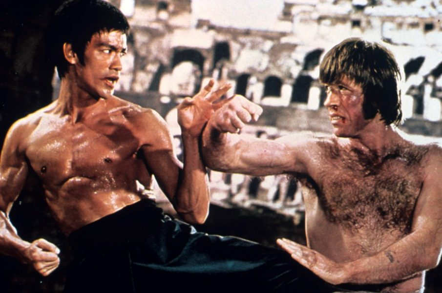 the way of the dragon - bruce lee vs. chuck norris