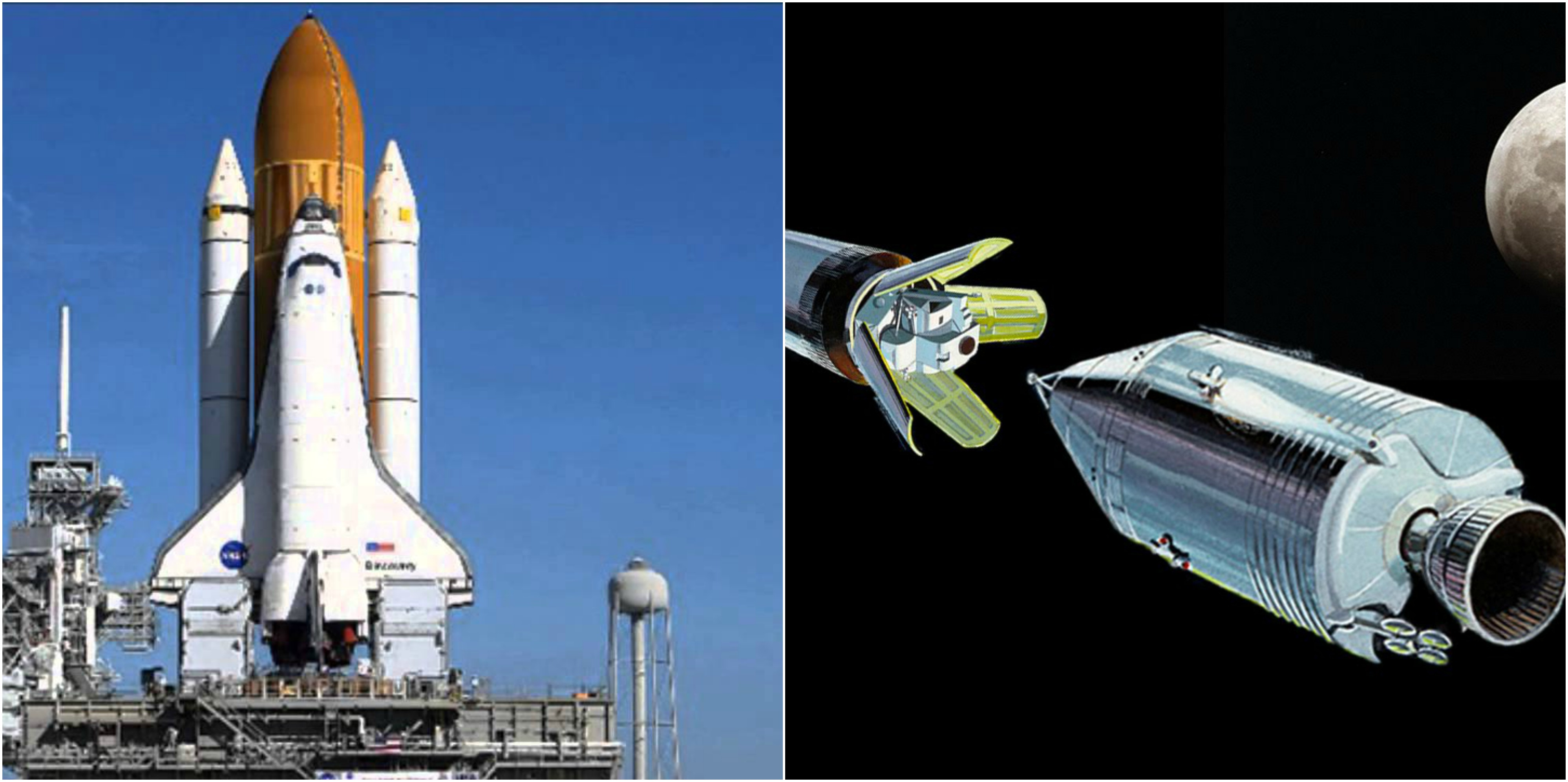 Spacecraft technology has come far since the 1960's.