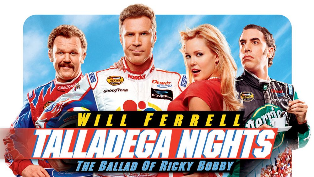 apatow movies talladega nights