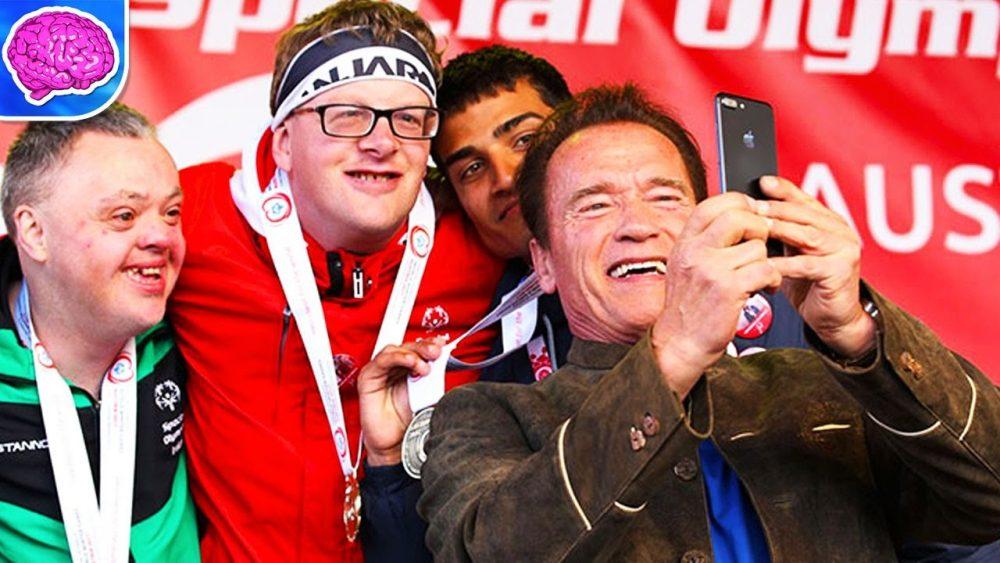arnie special olympics