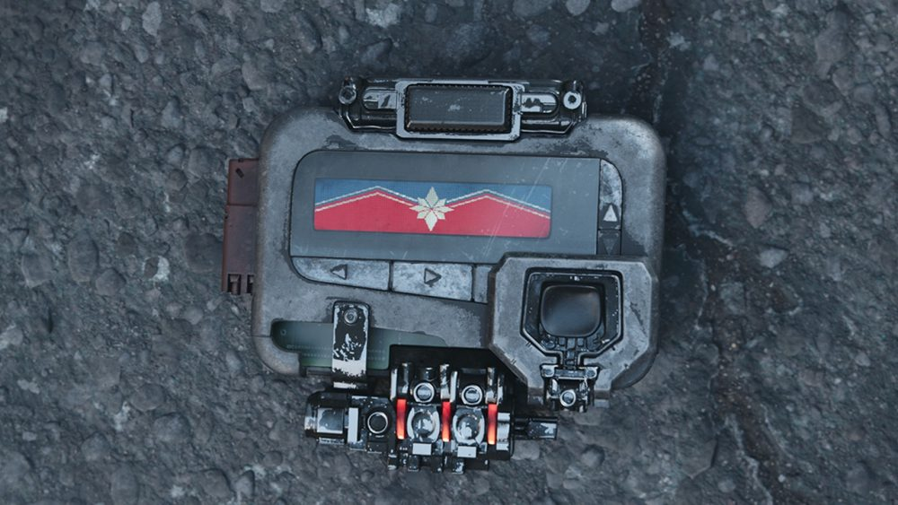 captain marvel pager