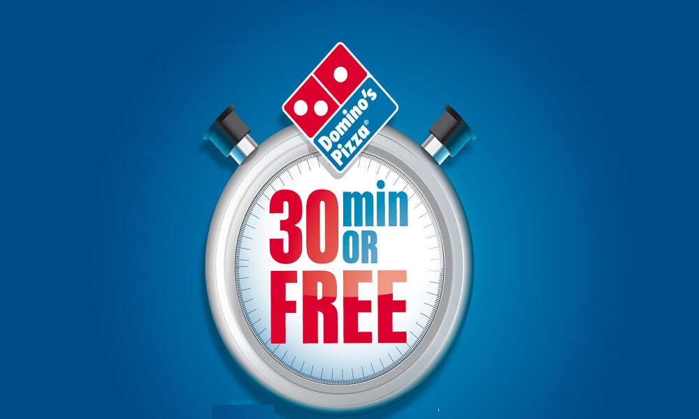 dominos-Offer-30-Minutes-Or-Free-Pizza