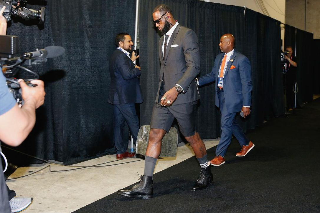 lebron_james suit shorts