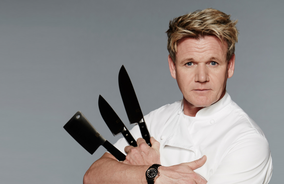 gordon ramsay knife expertise