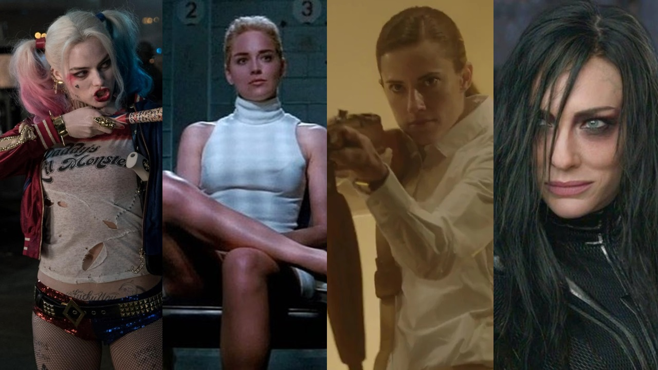 Top 10 Sexy Female Movie Villains | BabbleTop