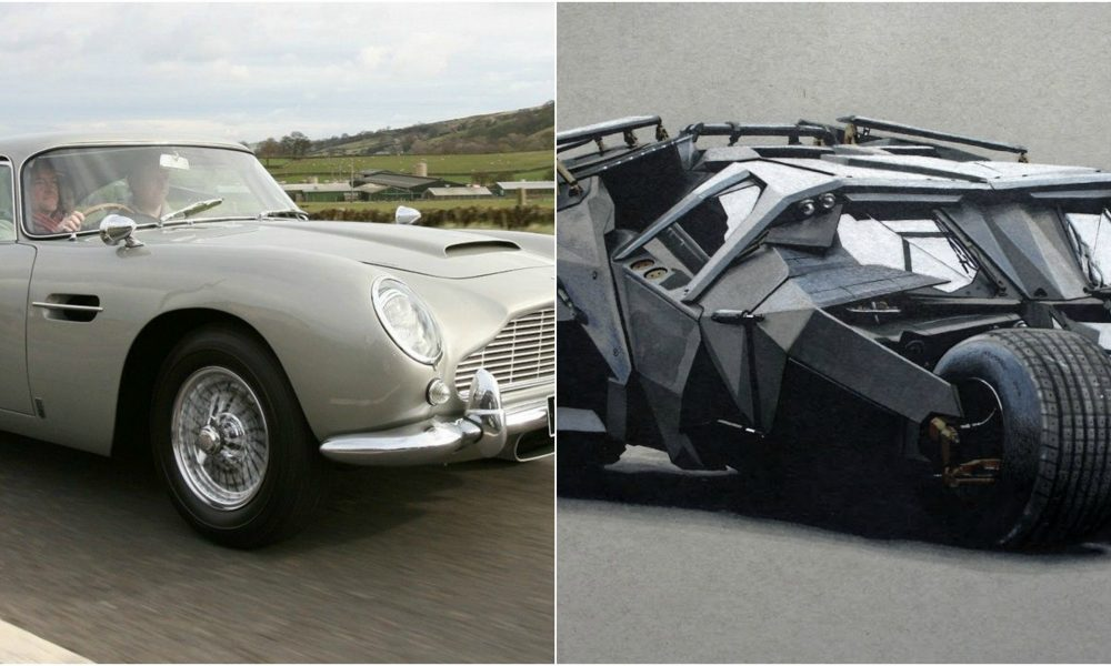 10 Of Hollywood's Coolest Cars