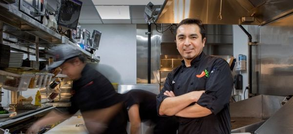 Chilis kitchen staff