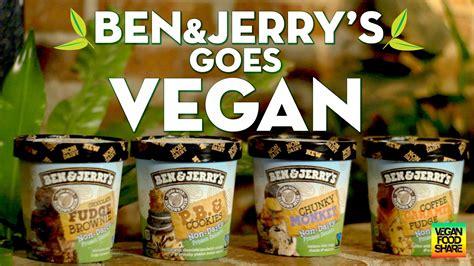 Ben & Jerry's Goes Vegan