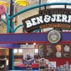 Example of big Ben & Jerry's ice cream parlor