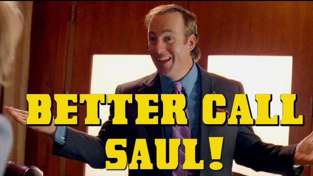 Saul Goodman of Breaking bad meme