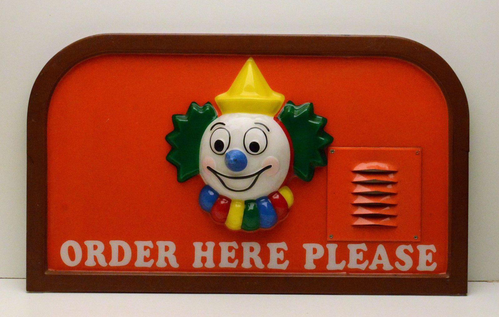 clown order