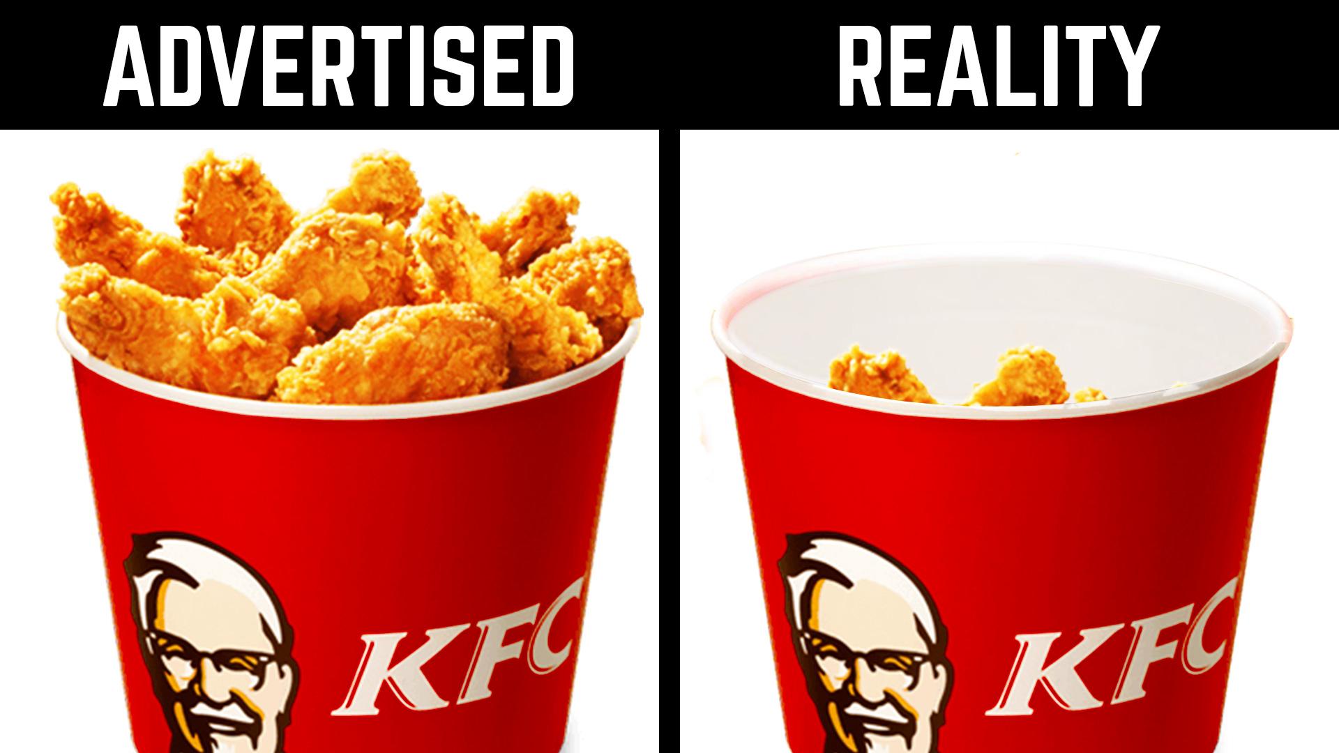 fast food cheated customers