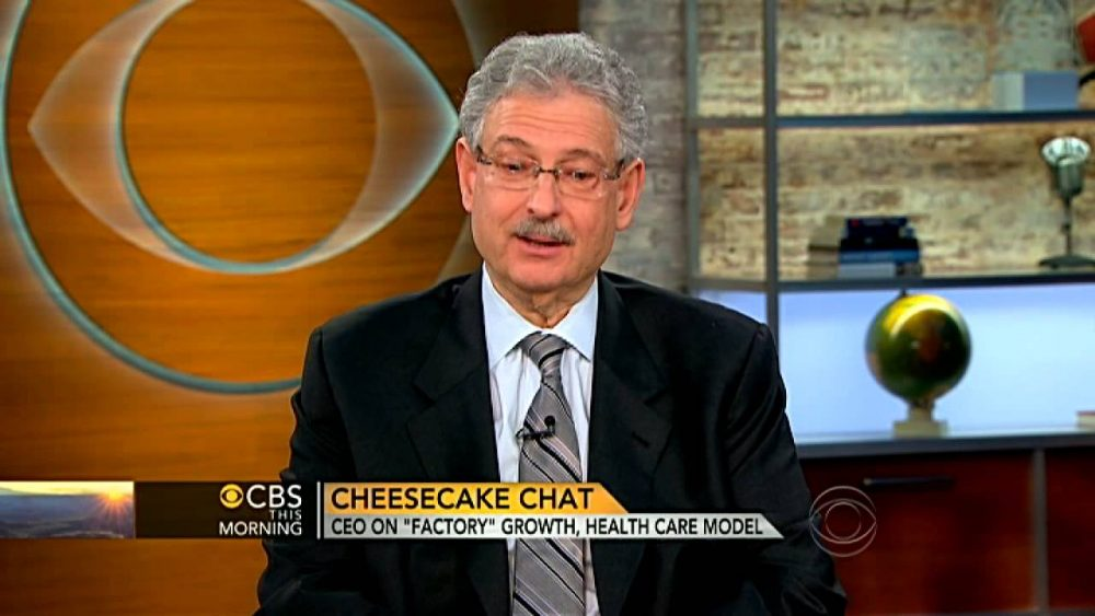Cheesecake Factory CEO