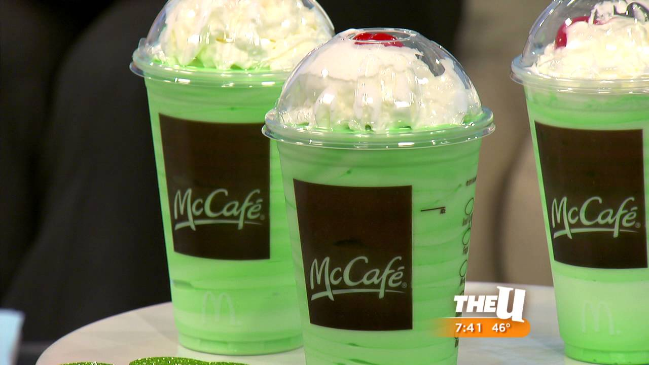 A minty St. Patrick's Day treat.